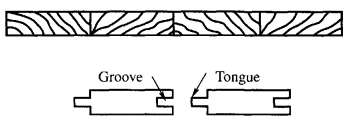 GROOVE AND TONGUE SHEET PILE
