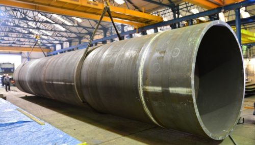 ROLLED STEEL SPIRAL WELDED PIPE PILE CASING PHILIPPINES