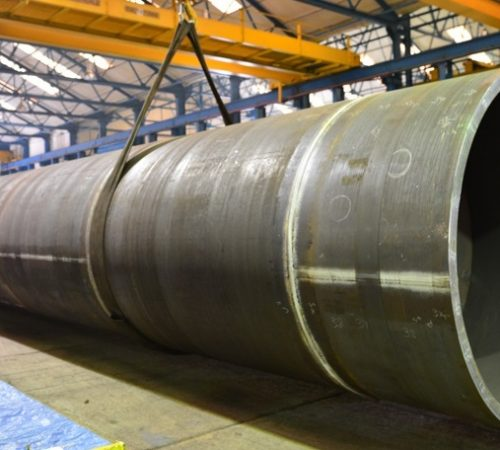 ROLLED STEEL PIPE CASING