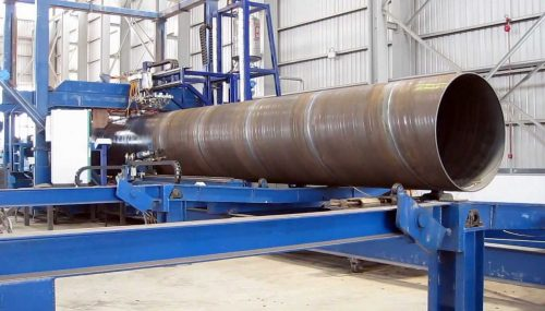 SPIRAL PIPE CASING